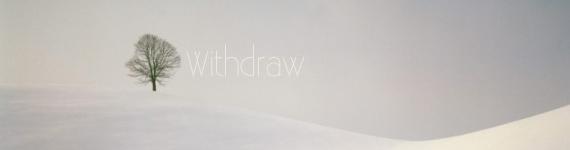 Jesus-withdrew