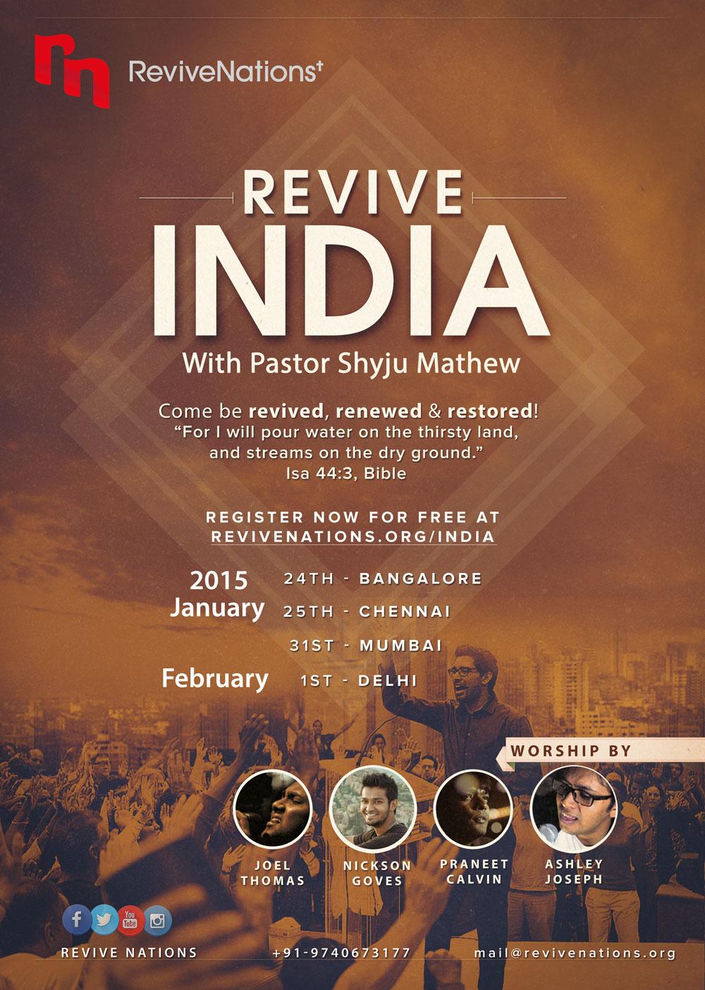 Revive India Brochure