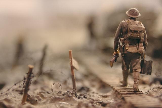 A soldier's failure!