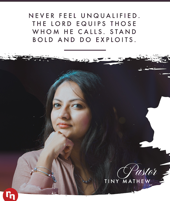 A Word of Encouragement for Pastor's Wives from Pastor Tiny Mathew