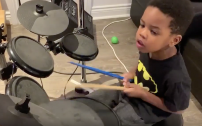Worship, Jesus and Drums: A Young Boy's Journey to Joy